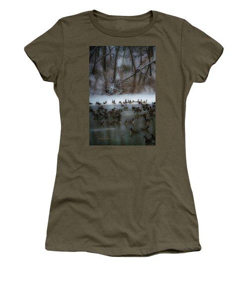 Winter Swim Women's T-Shirt
