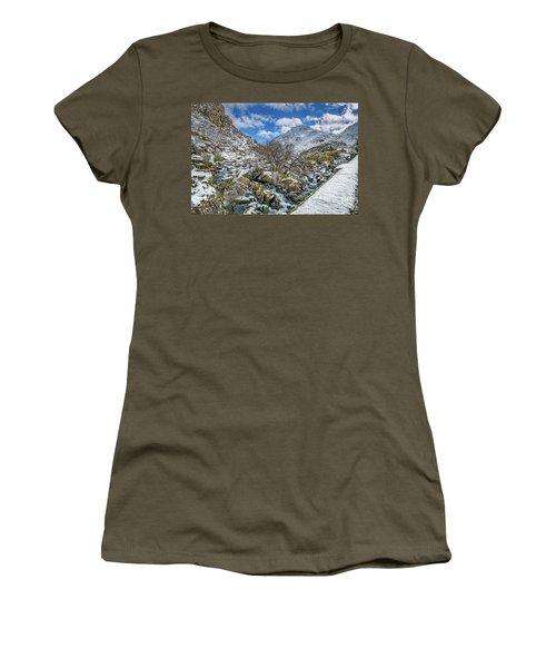 Winter Wonderland Snowdonia Women's T-Shirt
