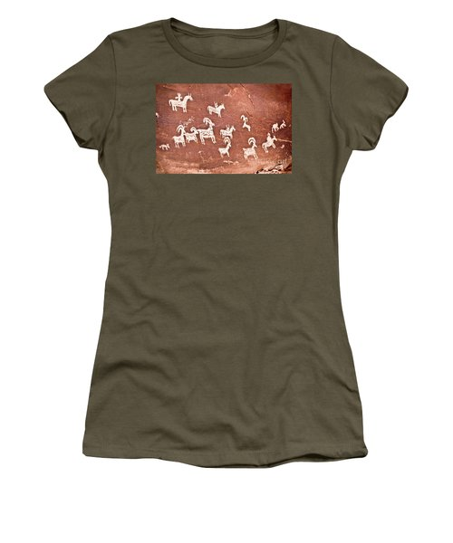 Wolfe Ranch Petroglyphs Women's T-Shirt