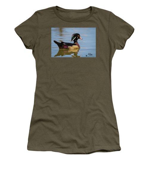 Wood Duck In Dallas Women's T-Shirt