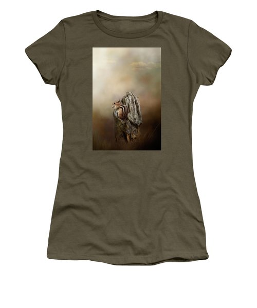 Woodland Visitor Women's T-Shirt