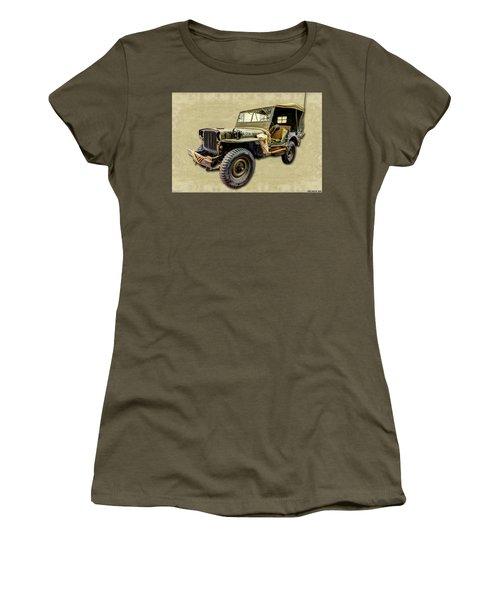 Ww2 Jeep 2 Women's T-Shirt