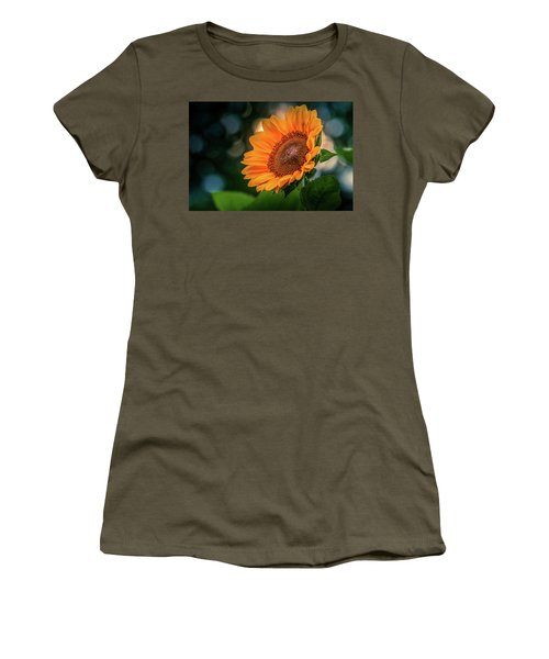 Women's T-Shirt featuring the photograph Yellow Sunflower #3 by Allin Sorenson