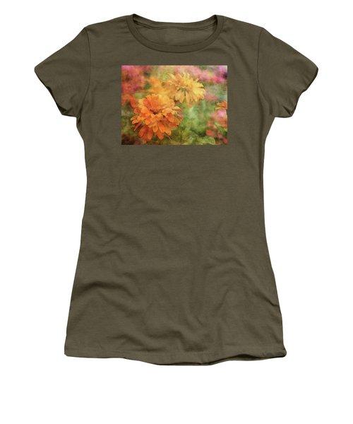 Zinnias 3063 Idp_2 Women's T-Shirt
