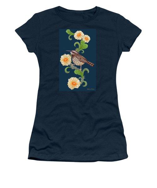 Cactus Wren Women's T-Shirt (Athletic Fit)