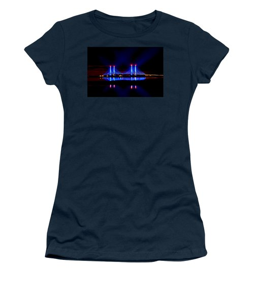 Reflecting Bridge - Indian River Inlet Bridge Women's T-Shirt (Athletic Fit)