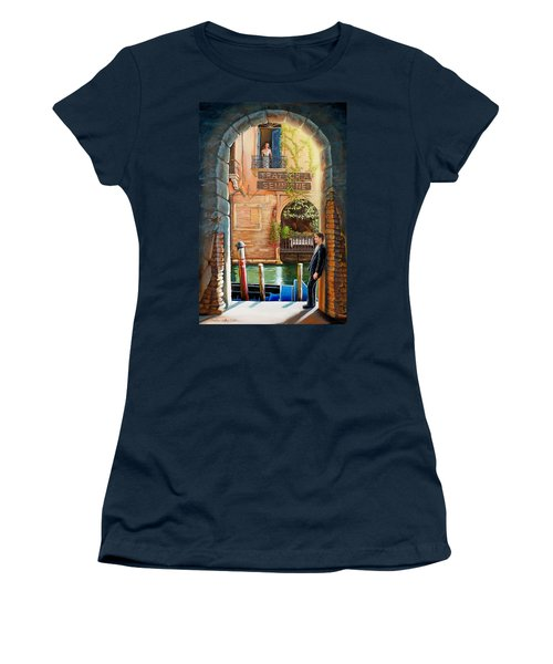 Thinking Of You Trattoria Sempione San Marco 578 Venezia Women's T-Shirt (Athletic Fit)