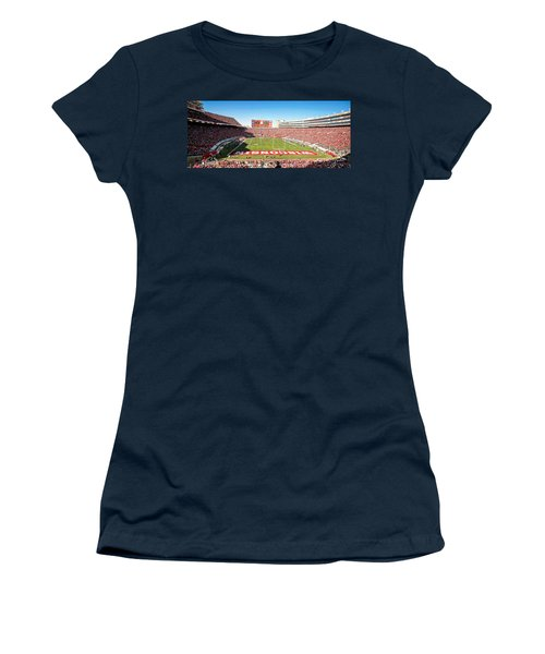 0812 Camp Randall Stadium Panorama Women's T-Shirt