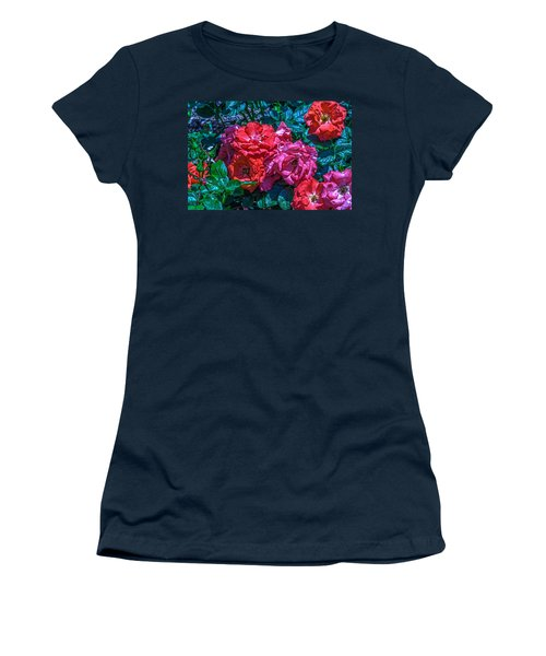 A Rose Is A Rose Women's T-Shirt (Junior Cut) by Richard J Cassato