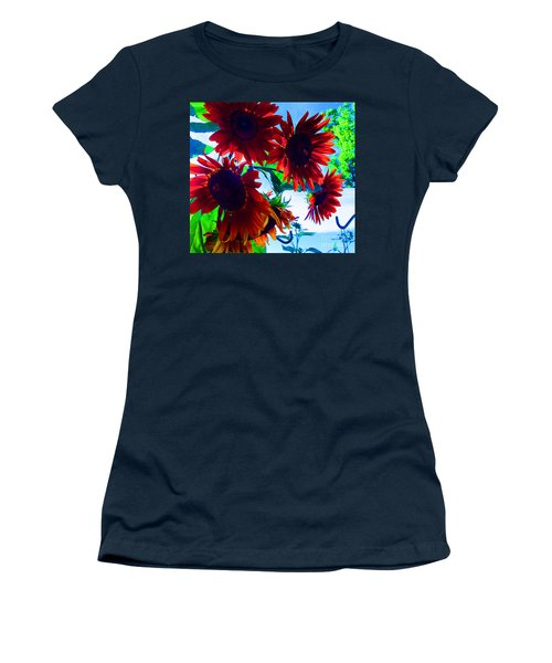 Women's T-Shirt (Junior Cut) featuring the photograph All Together Now by Tina M Wenger