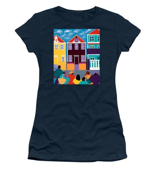 Curacao Dreams Women's T-Shirt (Athletic Fit)