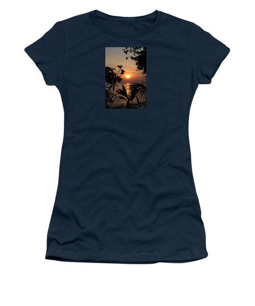 Women's T-Shirt (Junior Cut) featuring the photograph Evening Sun by Elizabeth Lock