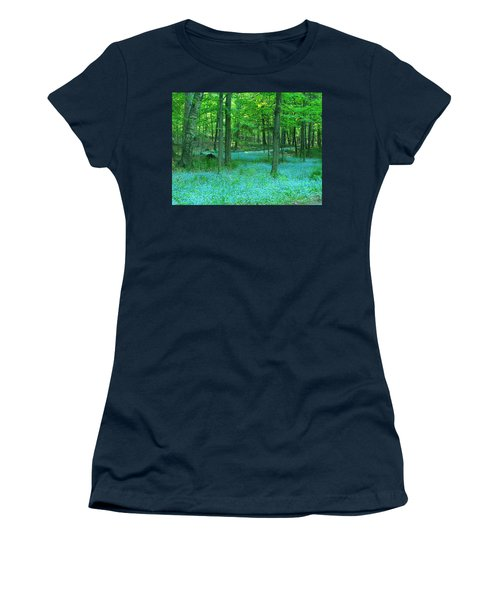 Forget-me-nots In Peninsula State Park Women's T-Shirt