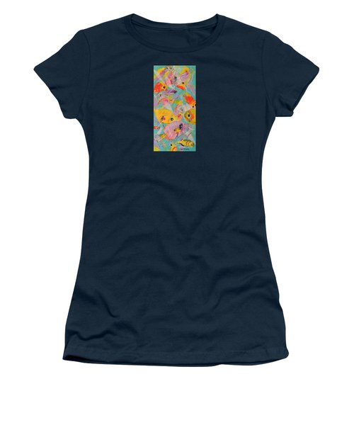 Great Barrier Reef Fish Women's T-Shirt (Junior Cut) by Lyn Olsen