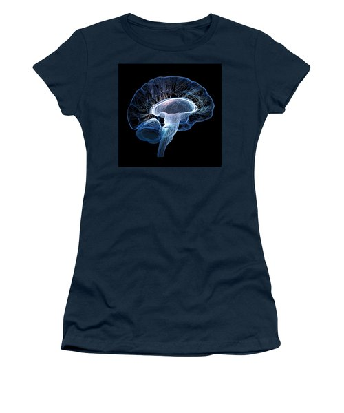 Human Brain Complexity Women's T-Shirt (Athletic Fit)