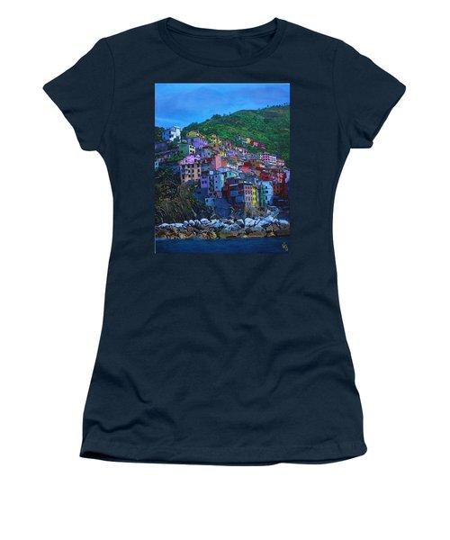 Italia Women's T-Shirt (Athletic Fit)