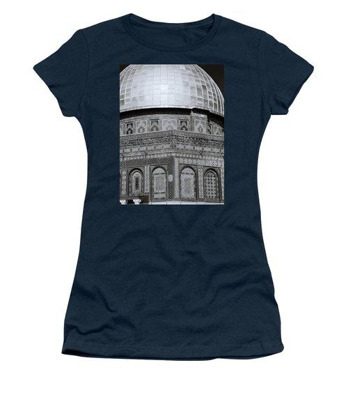 Jerusalem Mosaic Women's T-Shirt (Athletic Fit)