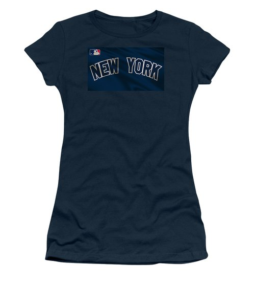 New York Yankees Uniform Women's T-Shirt (Athletic Fit)