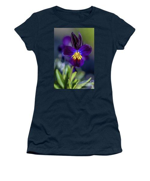 Purple Viola Women's T-Shirt
