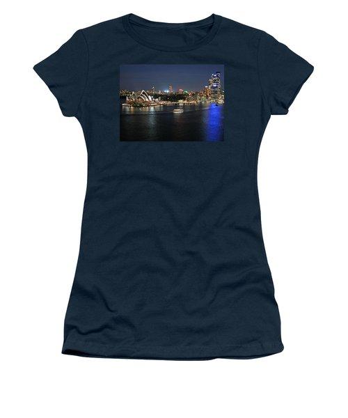 Sydney Harbor At Circular Quay Women's T-Shirt (Junior Cut) by Ellen Henneke