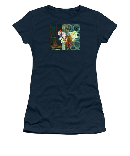 Tango The Moluccan Cockatoo  Women's T-Shirt (Athletic Fit)