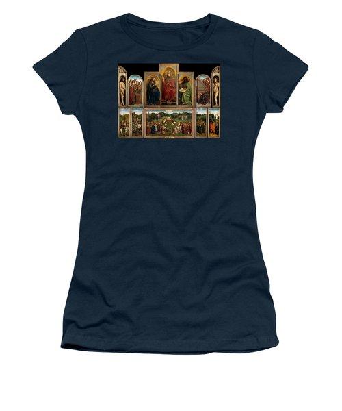 The Ghent Altarpiece Open Women's T-Shirt