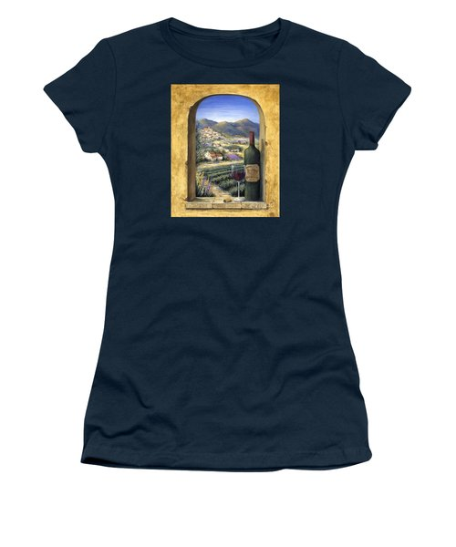 Wine And Lavender Women's T-Shirt