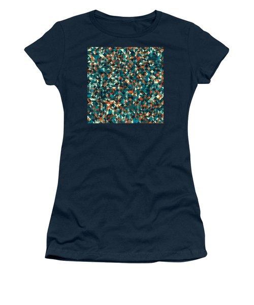 Retro Pixel Art Women's T-Shirt (Athletic Fit)