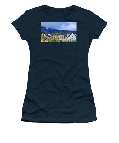 1916 Paradise Inn. Mount Rainier National Park Women's T-Shirt (Athletic Fit)