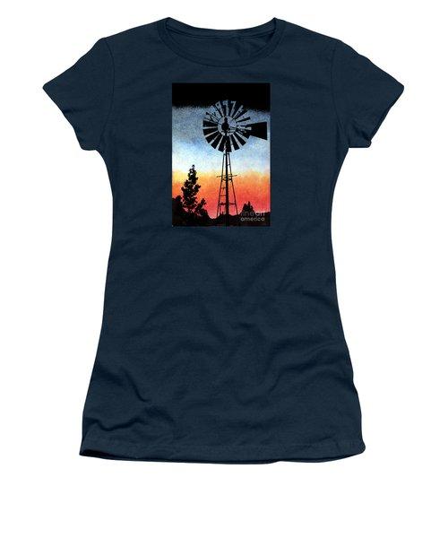 Nostalgia High Tech Women's T-Shirt (Junior Cut) by R Kyllo