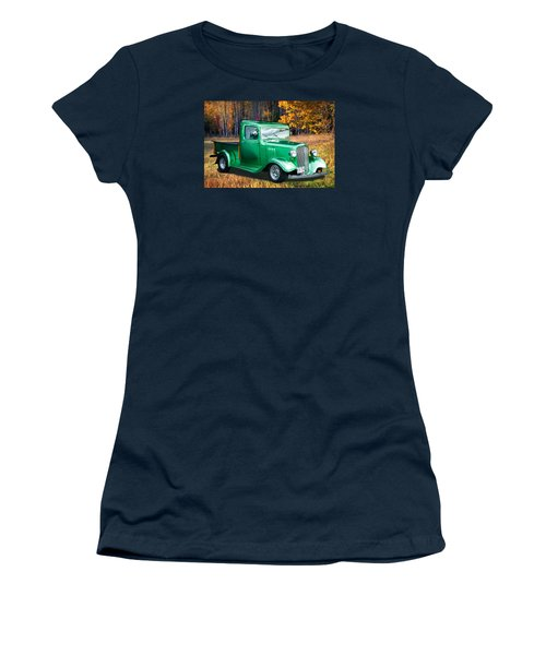 1934 Chev Pickup Women's T-Shirt (Junior Cut) by Richard Farrington