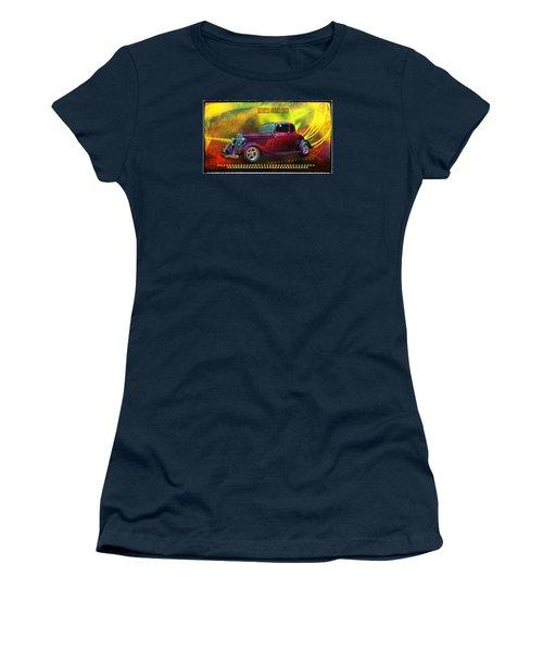 1934 Ford 5 Window Gennie Women's T-Shirt (Junior Cut) by Richard Farrington