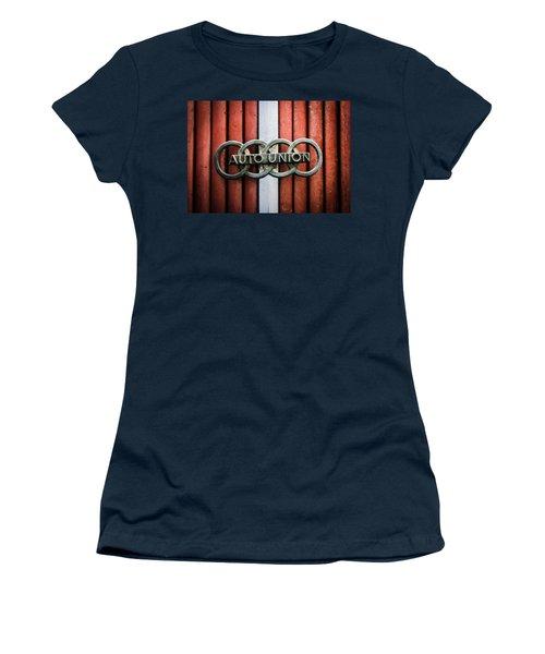 1936 Horch 853 Cabriolet Grille Emblem - Hood Ornament - 0375ca Women's T-Shirt
