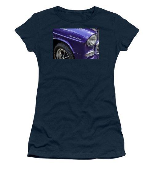 1955 Chevrolet Purple Monster Women's T-Shirt