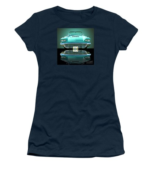 1959 Ford T Bird Women's T-Shirt (Athletic Fit)