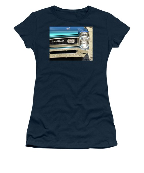 1966 Pontiac Gto Women's T-Shirt (Athletic Fit)