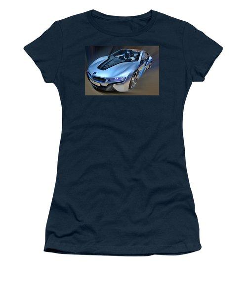 B M W  I8  Concept  2014 Women's T-Shirt