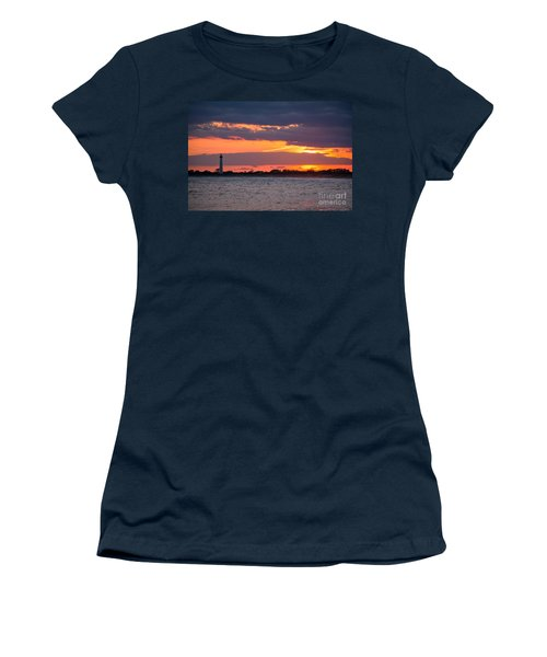 Cape May Lighthouse Sunset Women's T-Shirt