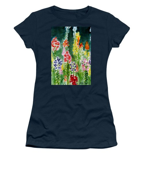 Donna's Snaps Women's T-Shirt (Junior Cut) by Jamie Frier