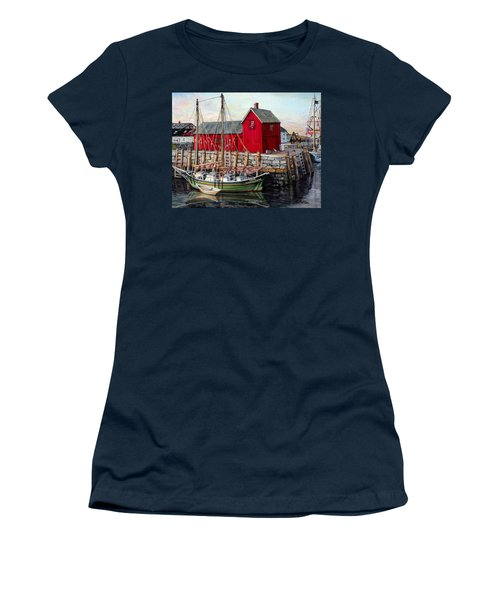Motif  Number One Women's T-Shirt (Junior Cut) by Eileen Patten Oliver