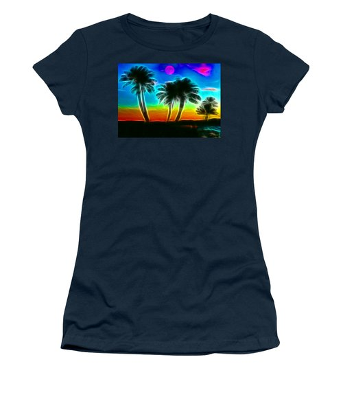 Women's T-Shirt (Junior Cut) featuring the photograph Paradise by Tammy Espino