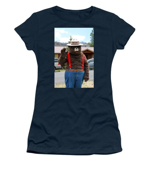Smokey The Bear Women's T-Shirt (Junior Cut)