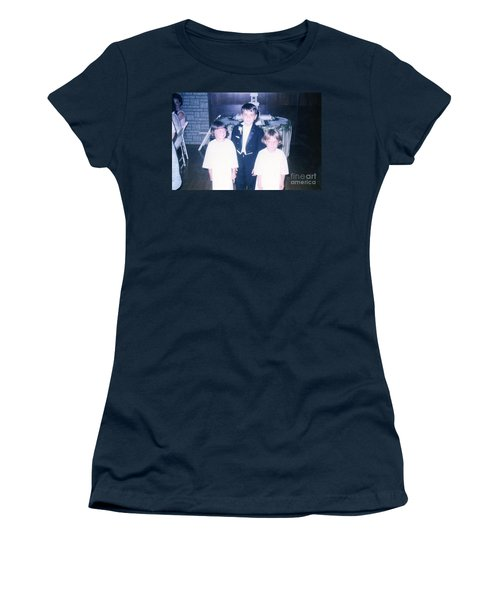 Women's T-Shirt (Junior Cut) featuring the photograph The Cousin Crush by Kelly Awad