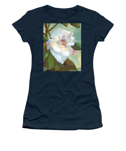 Unicorn In The Garden Women's T-Shirt