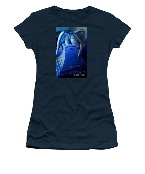 Women's T-Shirt (Junior Cut) featuring the photograph Angelic Sorrow by Michael Hoard