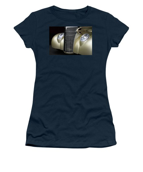 Women's T-Shirt (Junior Cut) featuring the photograph Custom Car Detail by Dave Mills
