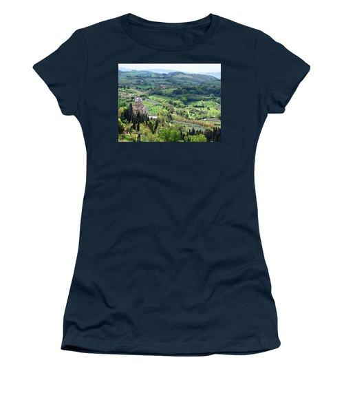 Madonna Di San Biagio Women's T-Shirt (Junior Cut) by Ellen Henneke