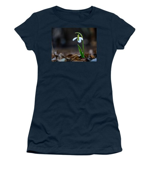 Snowdrop Flower Women's T-Shirt