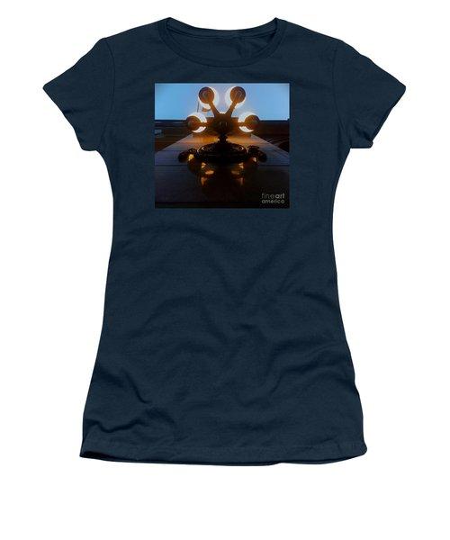 5 Points Of Light Women's T-Shirt (Junior Cut) by James Aiken