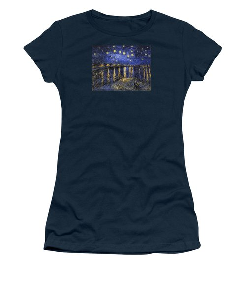 Starry Night Over The Rhone Women's T-Shirt